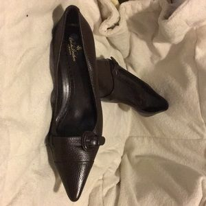 Brooks Brothers Shoes - Brooks Brothers Brown Heels sz8